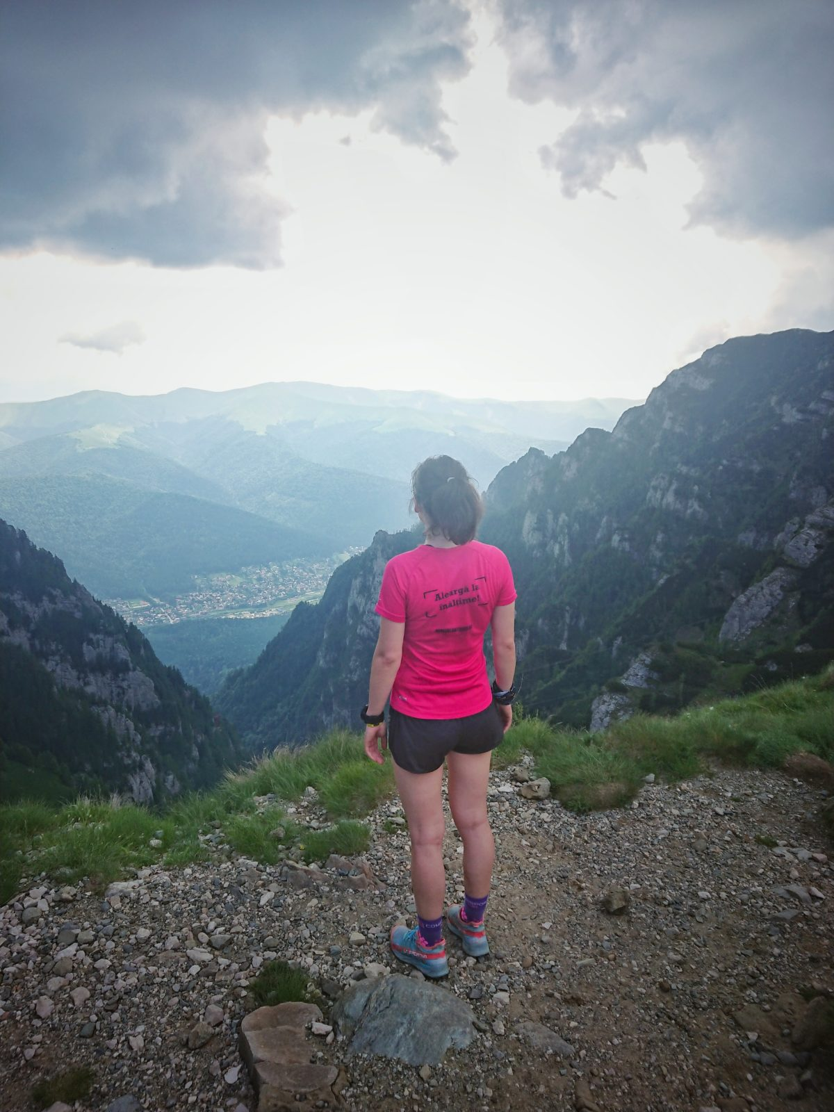 Când întâlnești muntele în alergare